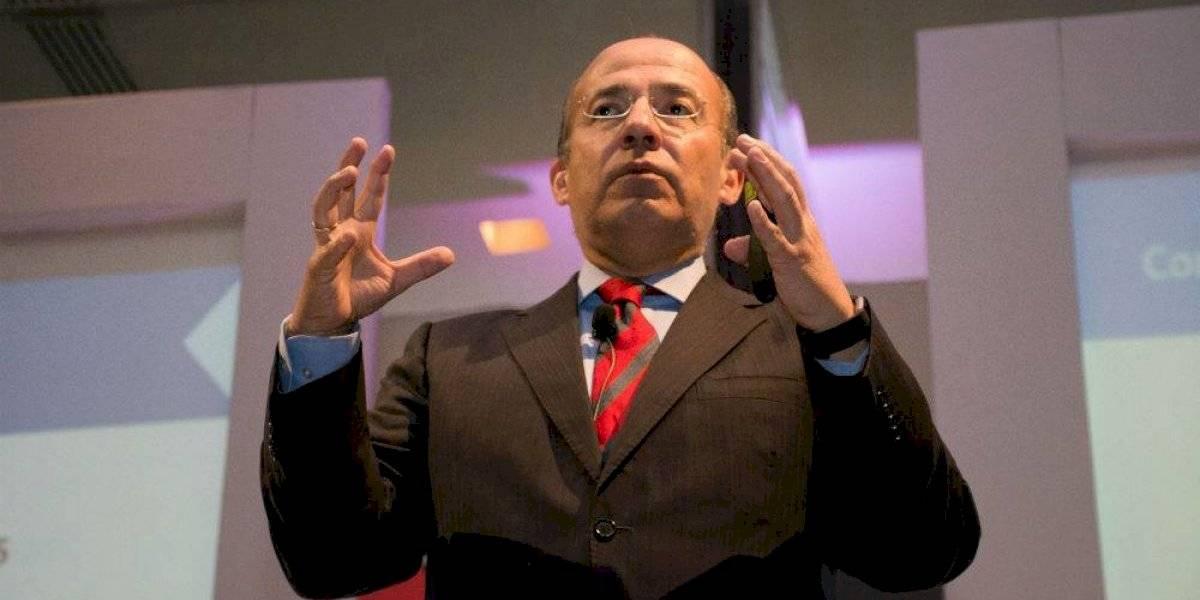 Felipe Calderón niega estar detrás de protestas de policías federales