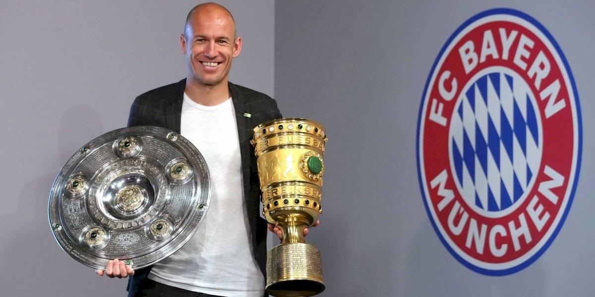 Arjen Robben anuncia oficialmente su retiro del futbol