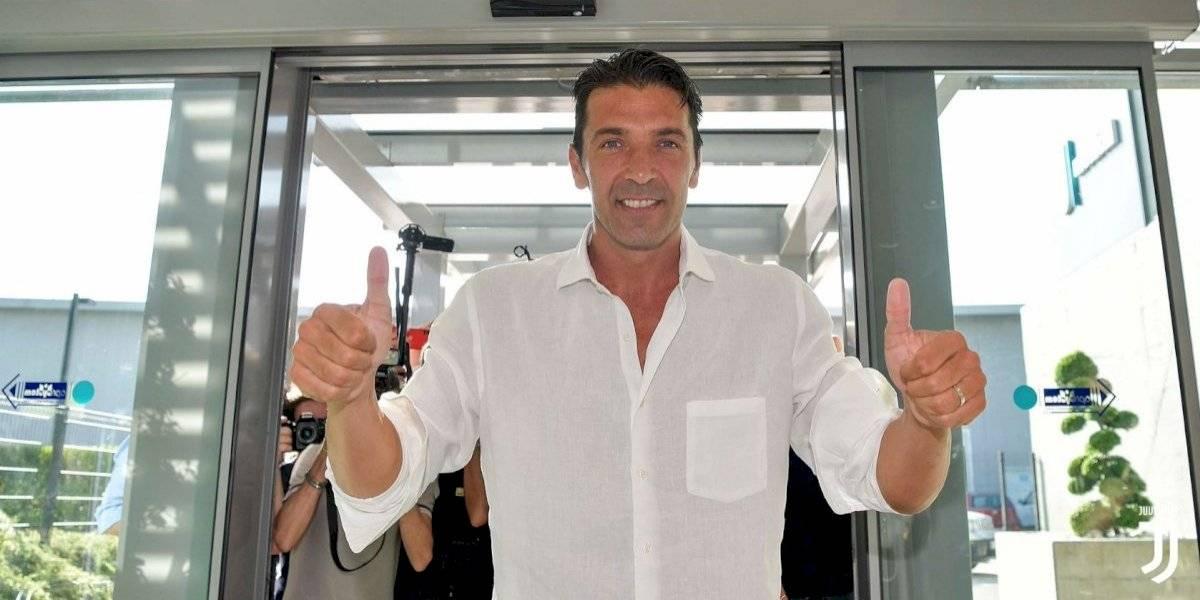 ¡De vuelta a casa! Buffon regresa con la Juventus