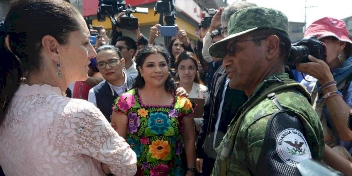 Guardia Nacional inicia operaciones en Iztapalapa