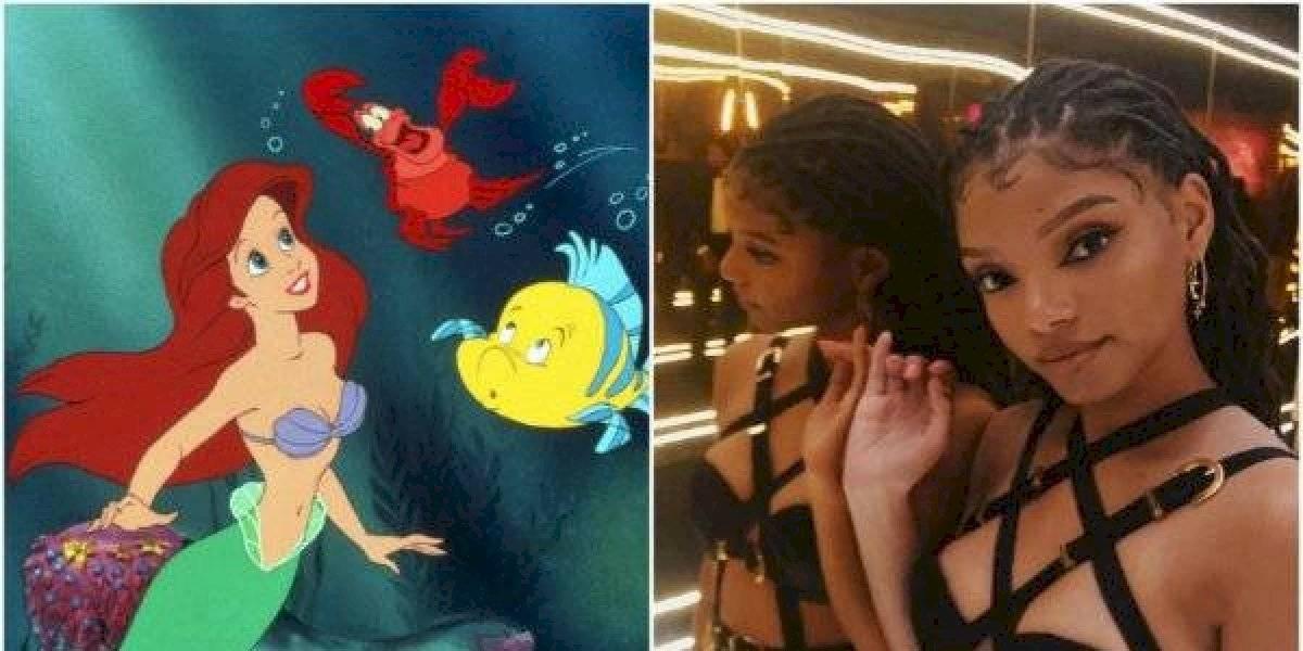 """Eligen a Halle Bailey para ser Ariel en""""La Sirenita"""" y las redes estallan de enojo"""