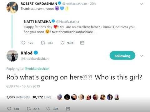 Mensaje Rob y Natti Natasha