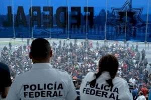 Mesa de diálogo Policía Federal