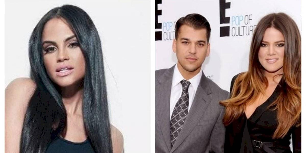 "Khloé Kardashian habla del ""amor"" entre su hermano y Natti Natasha"
