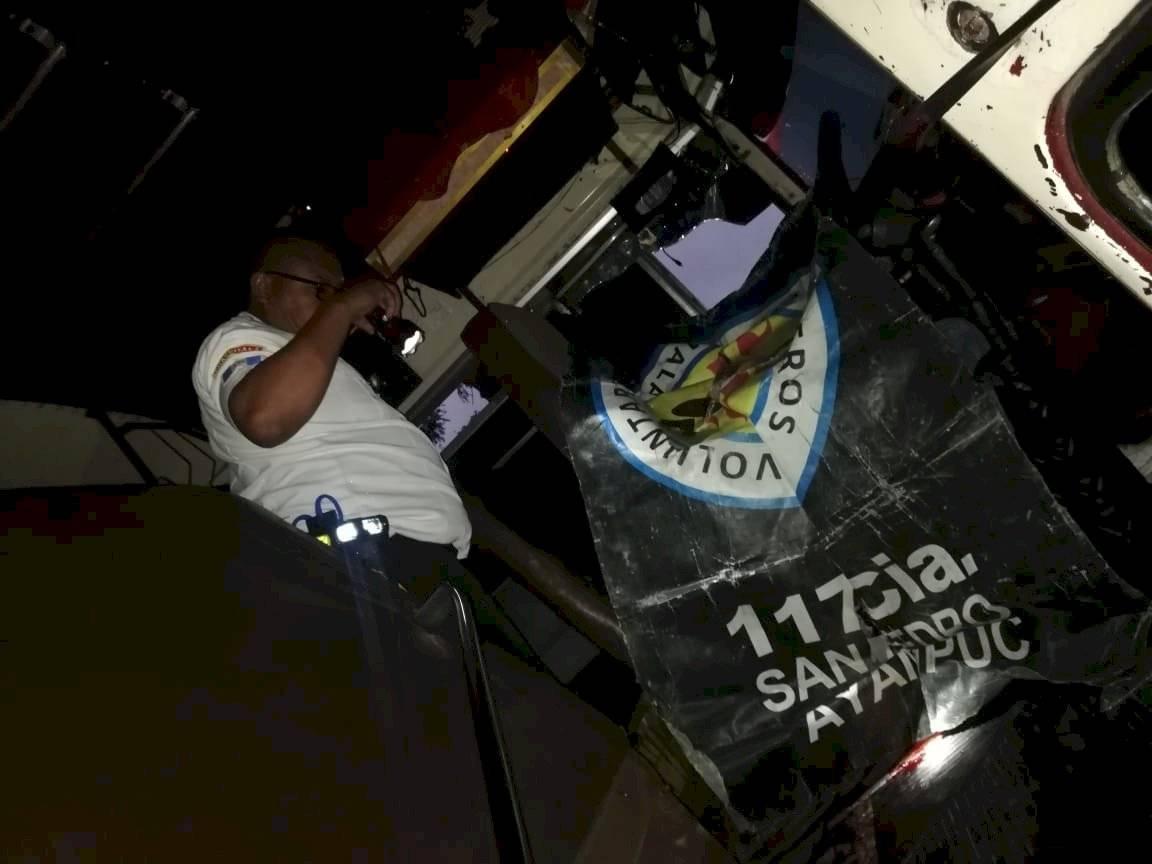 piloto de bus asesinado en San Pedro Ayampuc