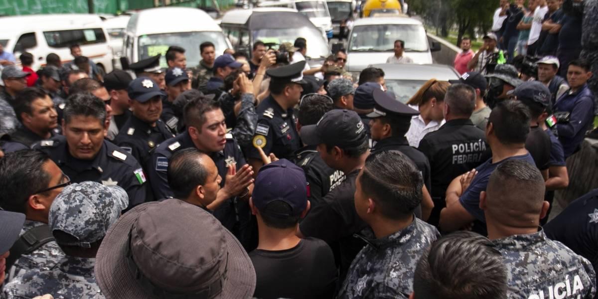 Líder de policías inconformes fue sentenciado por secuestro: Durazo