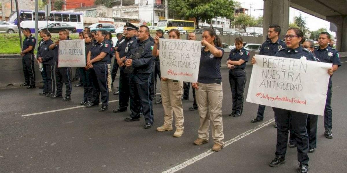 Piden no estigmatizar ni maltratar a policías federales