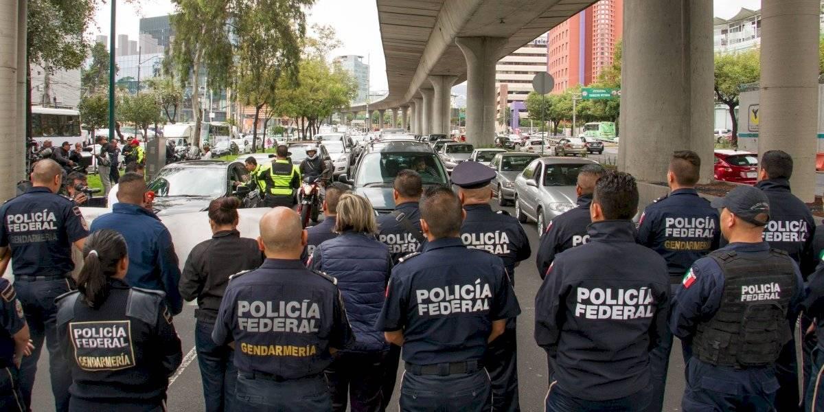 Organizadores de protestas no pertenecen a la Policía Federal: AMLO