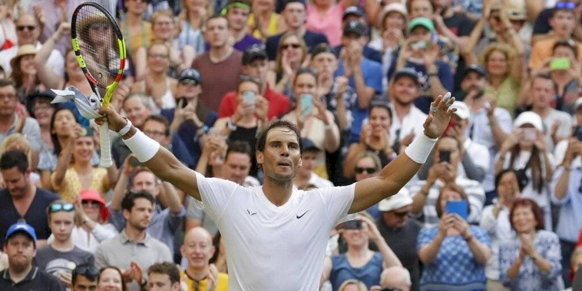 Rafael Nadal le pone el alto a Nick Kyrgios en Wimbledon