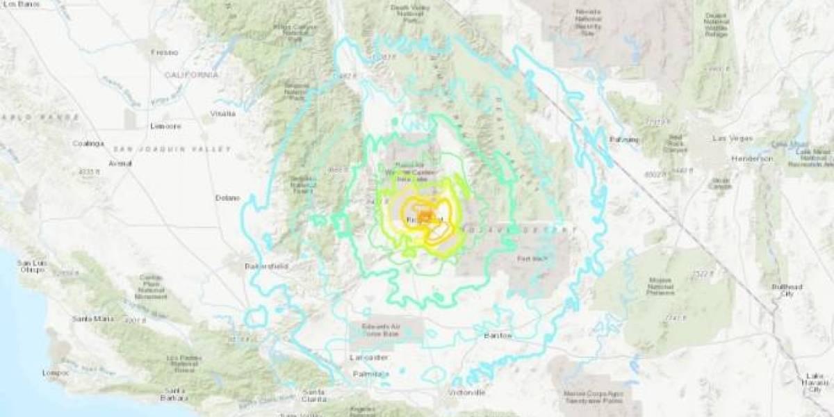 Terremoto que atingiu a Califórnia nesta quinta-feira é o maior em 25 anos