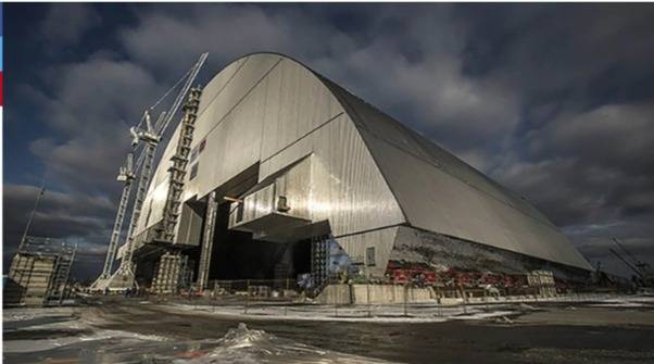 Gigantesco sarcófago de 36.000 toneladas será instalado en Chernobyl para tapar la radiación durante 100 años más