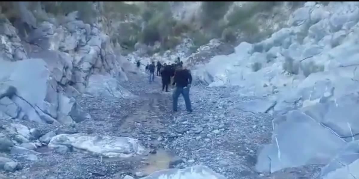 Rescatan cuerpos de ocho personas arrastradas por arroyo en Coahuila