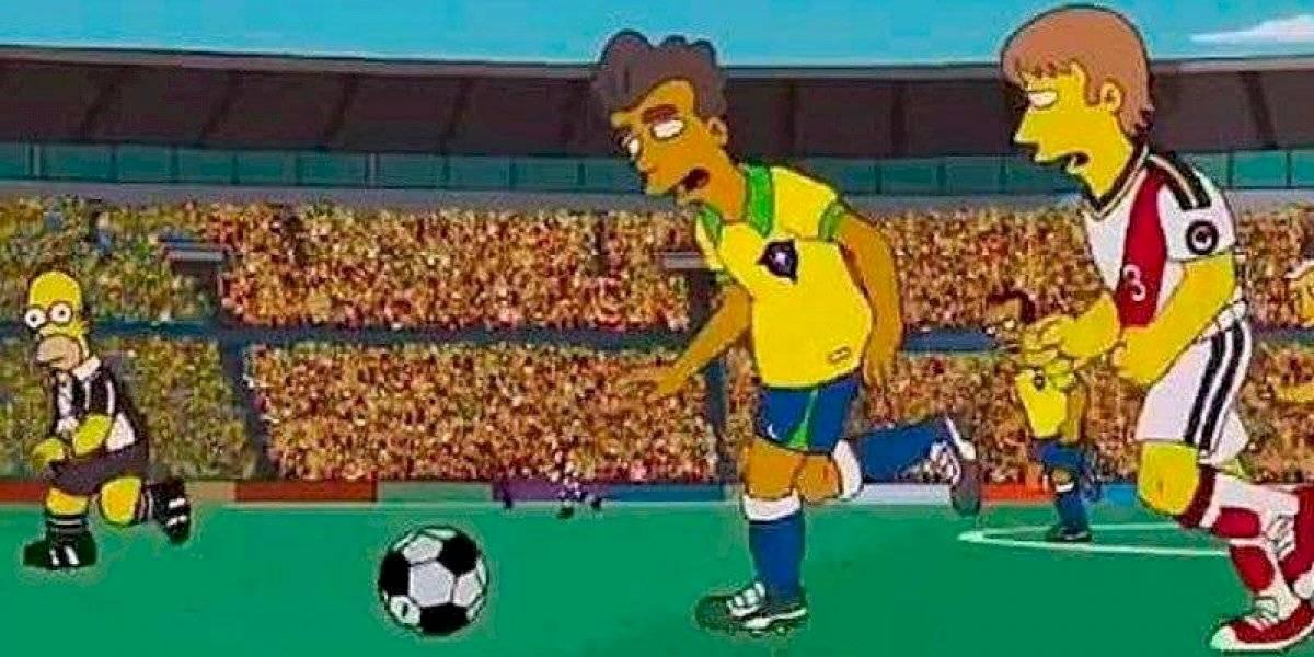 ¿Los Simpson predijeron la final de la Copa América?