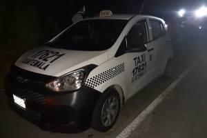taxista capturado por llevar heroína en Escuintla