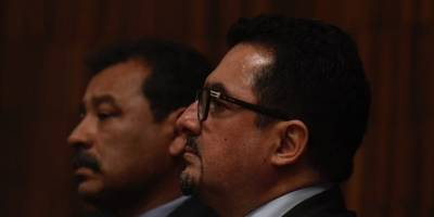 Cámara Penal escucha los recursos de casación de Gudy Rivera y de Vernon González.