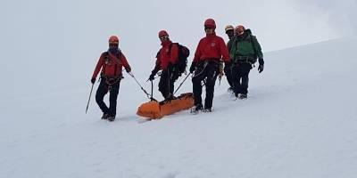 Excursionista cayó en una grieta de 30 metros en el volcán Cayambe