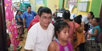 Niños intoxicados La Franja, La Máquina