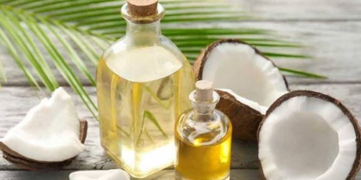 Consumir aceite de coco te ayuda a acelerar tu metabolismo..