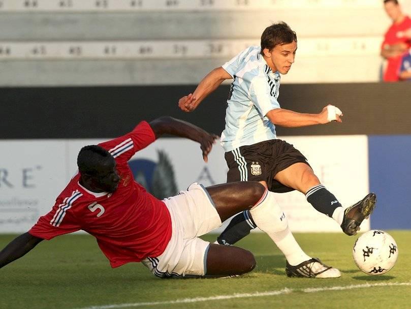 Buonanotte defendió los colores de la Albiceleste en selecciones juveniles y ganó el oro en Beijing 2008 / Foto: AP
