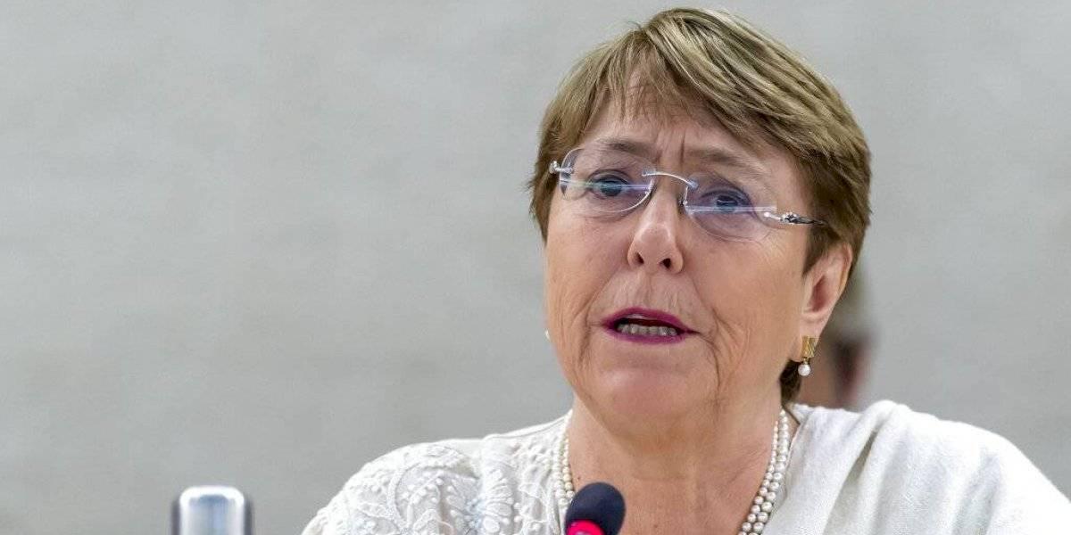 """""""Estas sanciones son extremadamente amplias"""": Bachelet critica últimas medidas de EEUU contra Venezuela por su impacto en los DDHH"""
