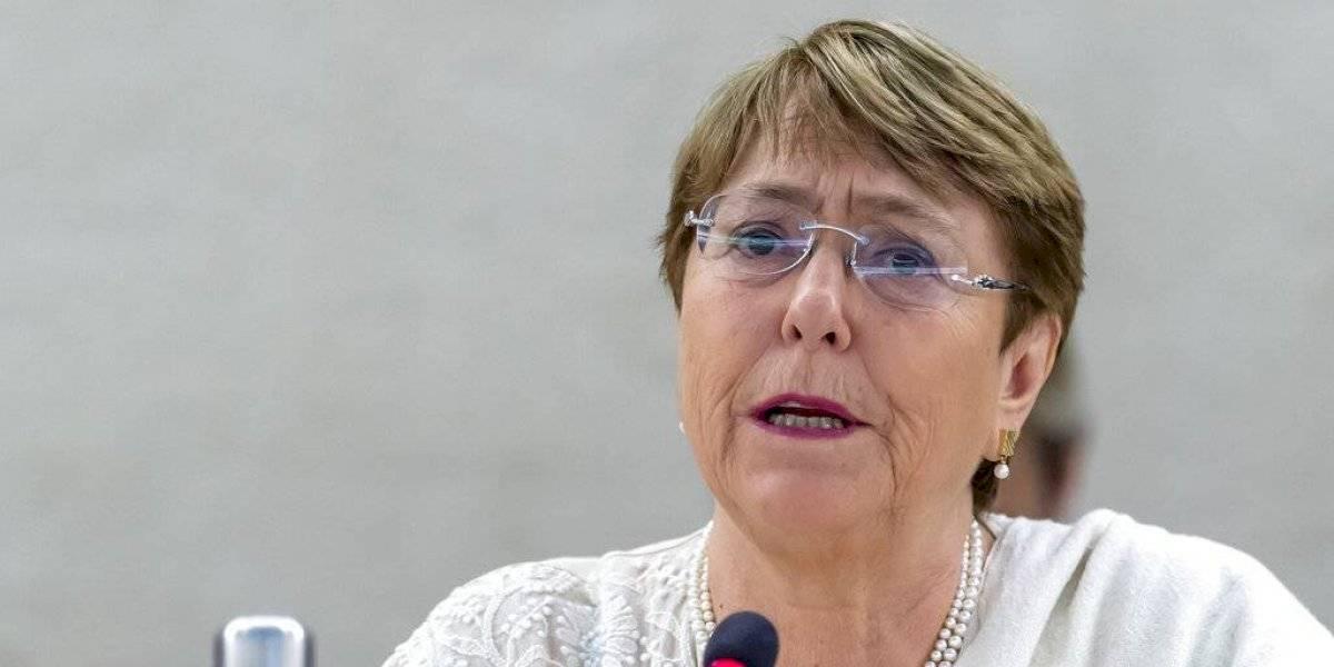 """Bachelet se declara """"alarmada"""" por incendios forestales en el Amazonas y asegura que """"podrían tener un impacto catastrófico en la humanidad"""""""