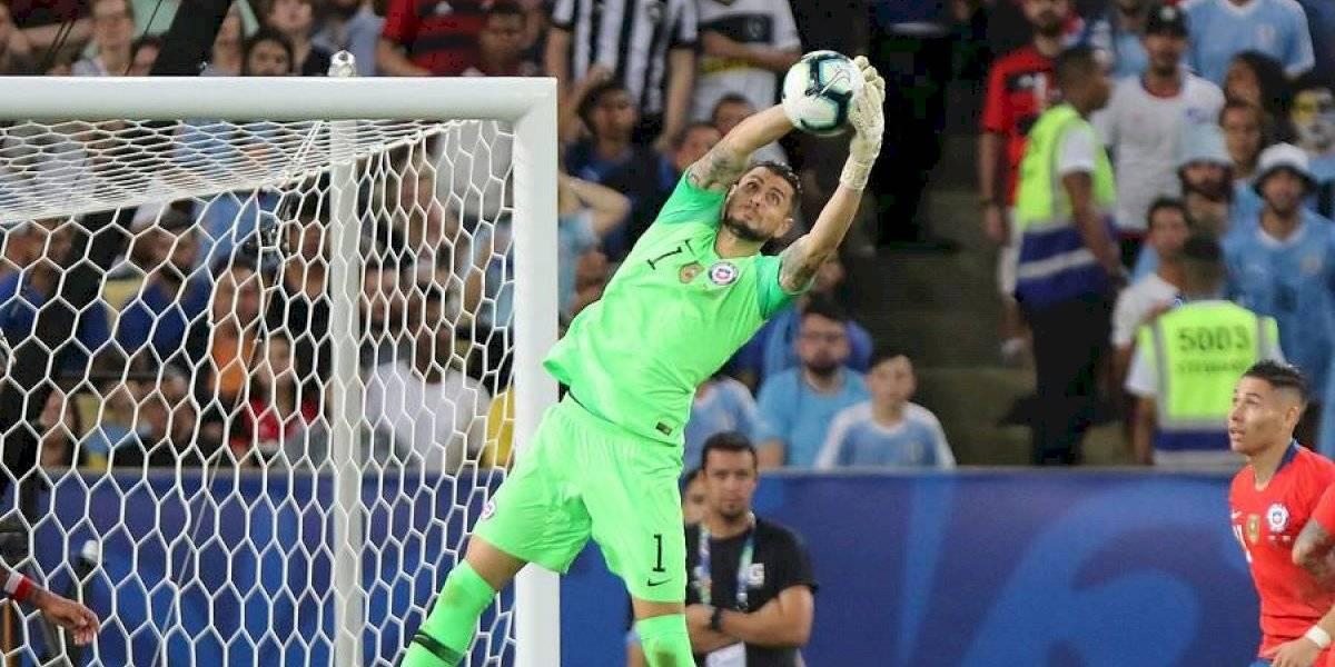 """Toselli defiende a Arias: """"Ha estado a la altura, sacando el partido con Perú, viene haciendo una copa muy correcta"""""""
