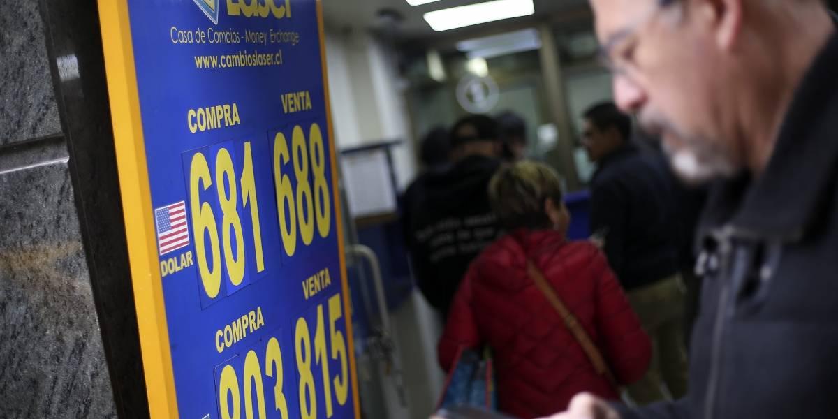 El dólar repunta y llega a los $683: bolsas están atentas a la guerra comercial
