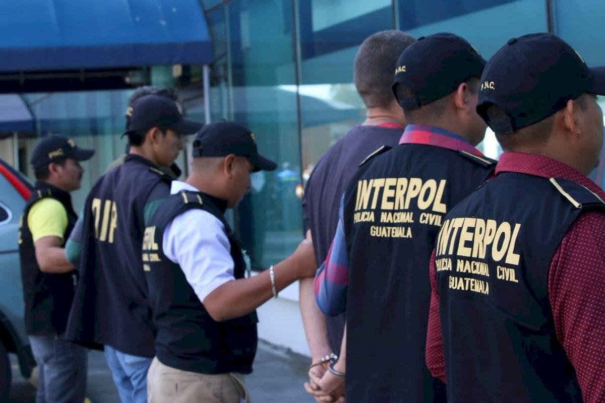 Brasileños son expulsados de Guatemala por orden de captura girada en su contra en su país. Foto: PNC