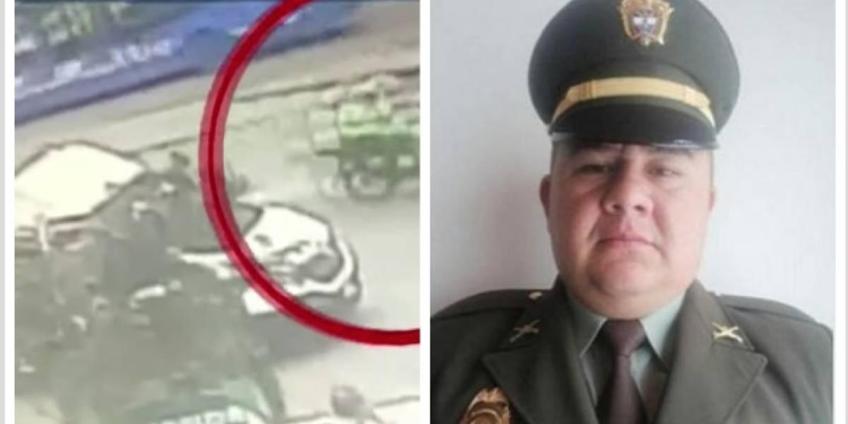 Se conocen nuevos videos de la balacera donde murió policía en Bogotá