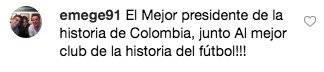 Vélez se reunió con presidente del Real Madrid en España