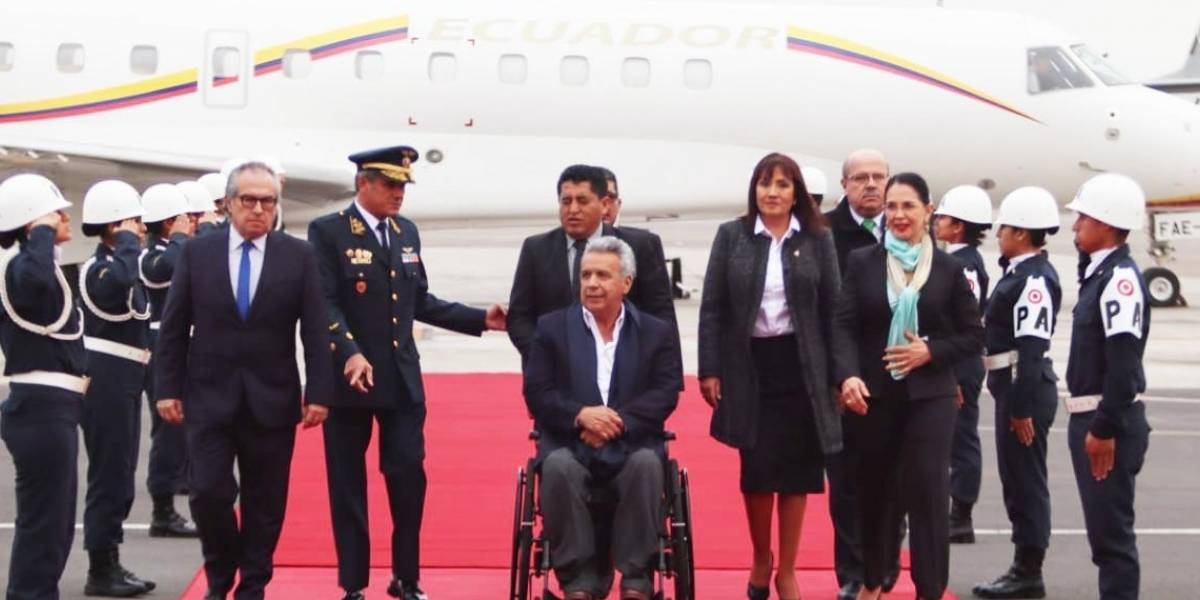 Lenín Moreno viajará a Europa para promover la nueva imagen del país y las inversiones extranjeras