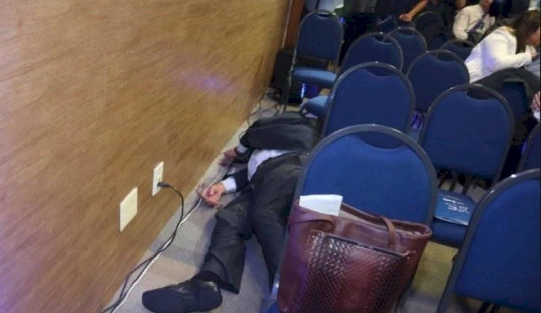 Transmisión en vivo: Empresario se suicida en Brasil frente a autoridades
