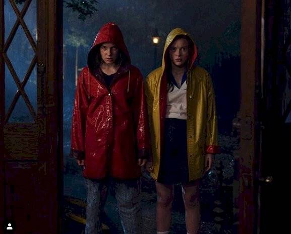 Tercera temporada de Stranger Things Instagram
