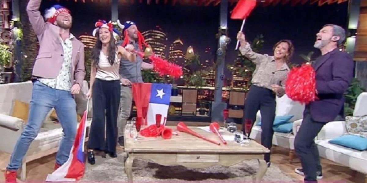 """¿""""Mufa""""?: """"No culpes a la noche"""" grabó introducción que daba a Chile como finalista"""