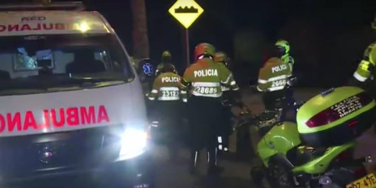 Mientras controlaba piques ilegales patrullera fue arrollada por un vehículo en Bogotá