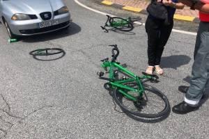 Jefferson Cepeda sufrió un accidente durante entrenamiento en España
