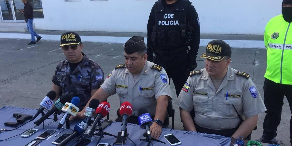 Más de 30 policías fueron agredidos por los reos de la cárcel de Portoviejo