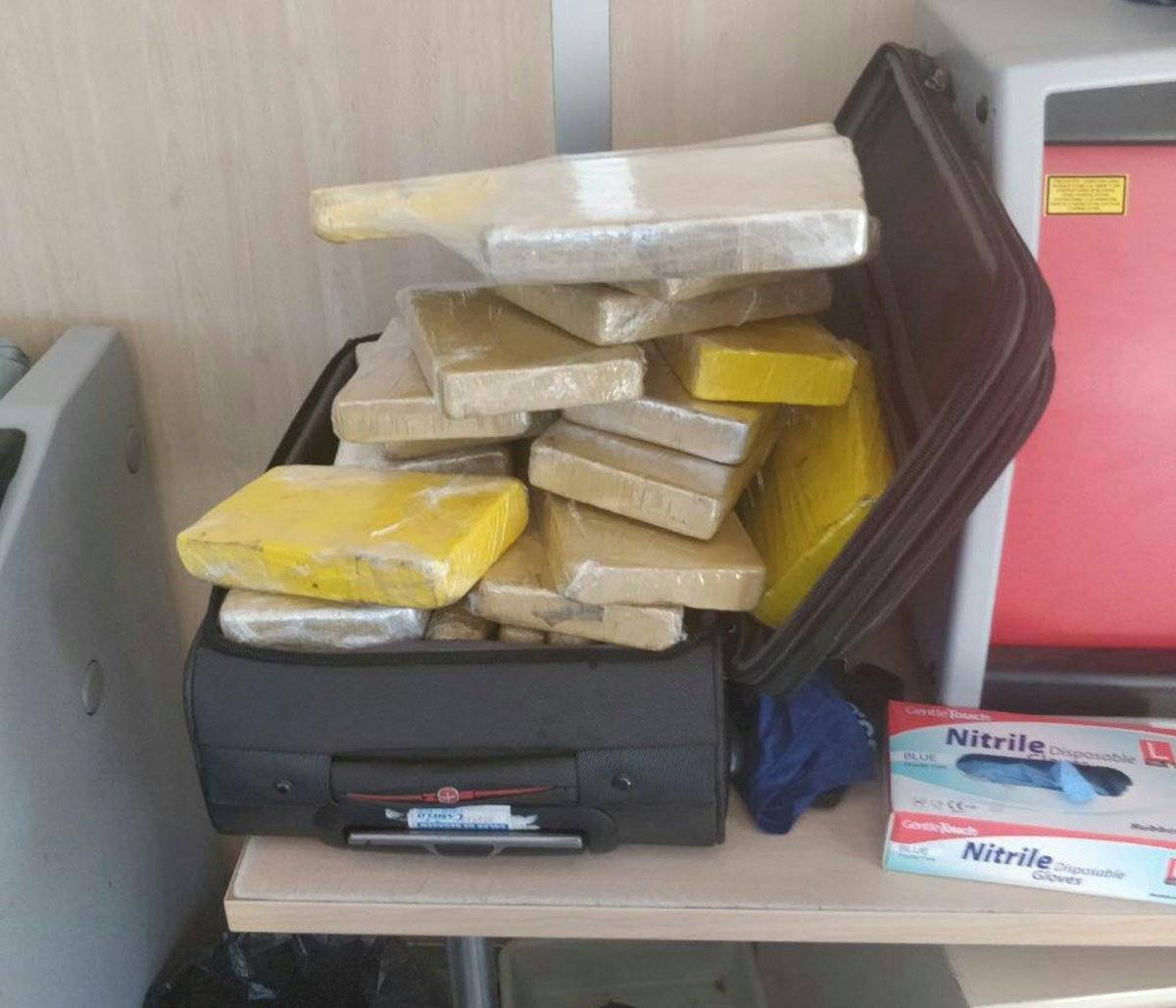 Divulgação/Guarda Civil da Espanha