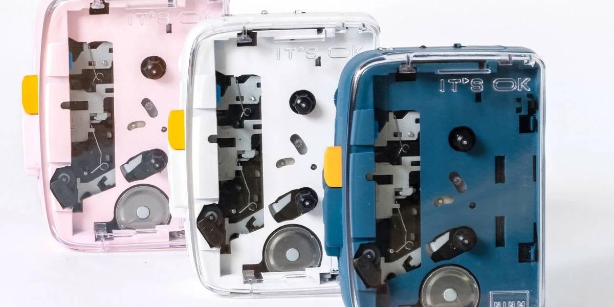 IT'S OK es un genial reproductor bluetooth de cassettes