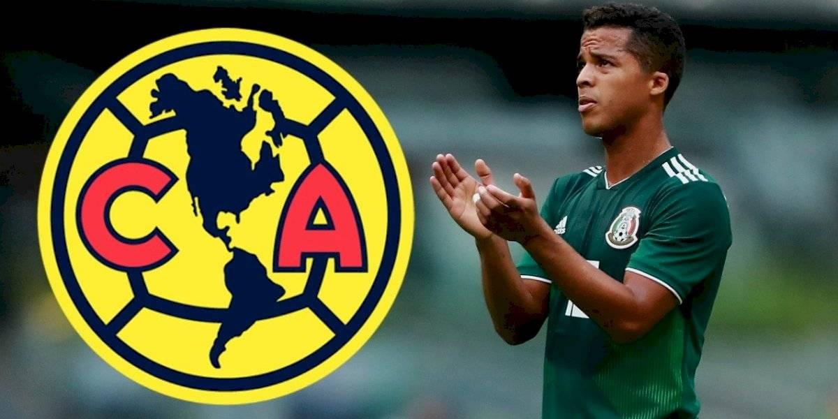 OFICIAL: Giovani dos Santos es nuevo jugador del América