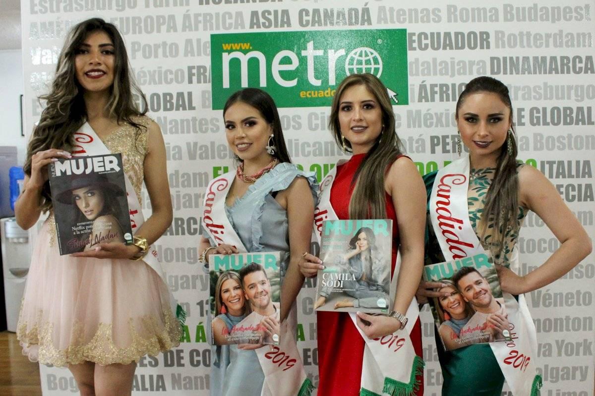 Candidatas a Reina de Pelileo 2019