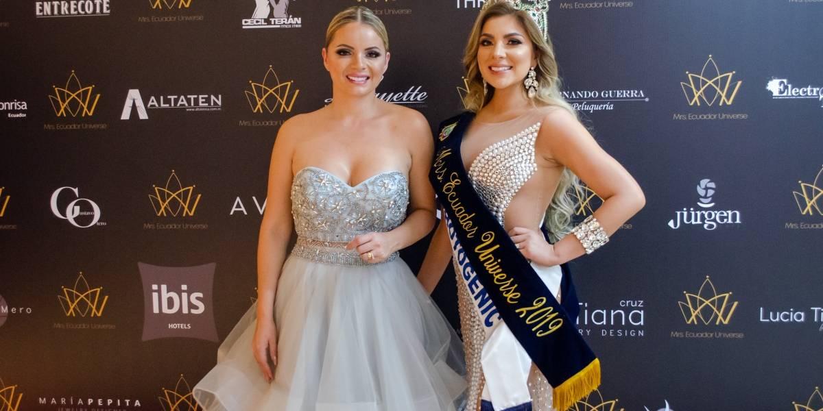 Karina Navarro es la nueva Mrs. Universe Ecuador 2019 y Rostro Avon