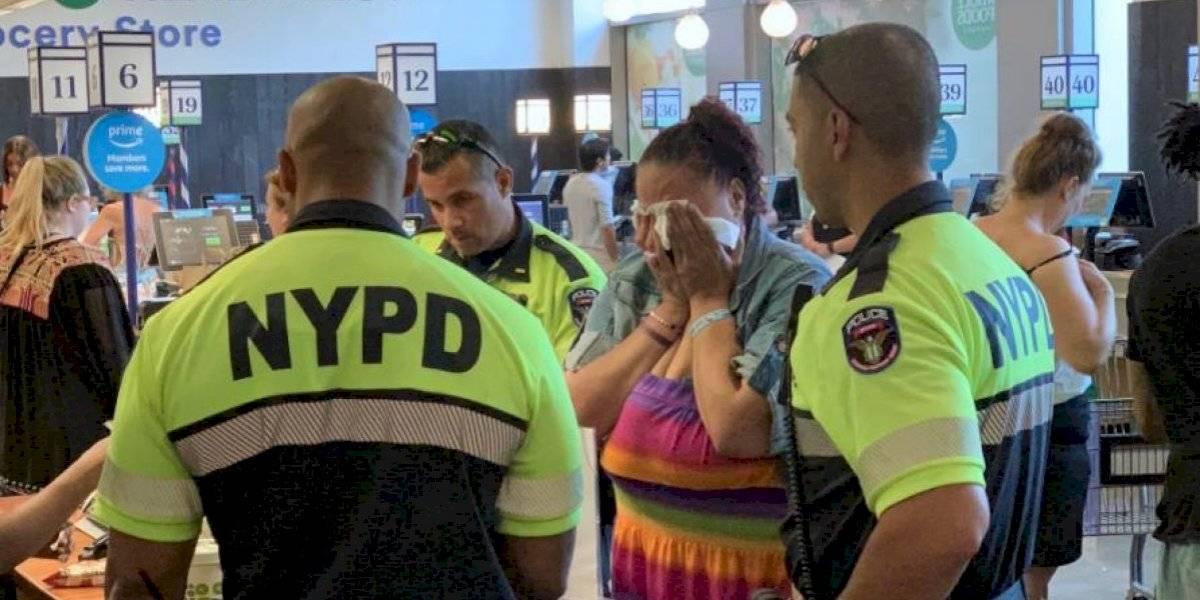 """""""Un acto genuino de bondad"""": robó en un supermercado alimentos para preparar comida y en vez de llevarla detenida los policías pagaron lo que llevaba"""