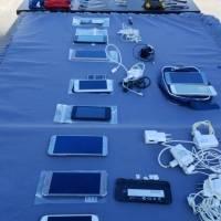 Objetos decomisados en cárcel de Portoviejo