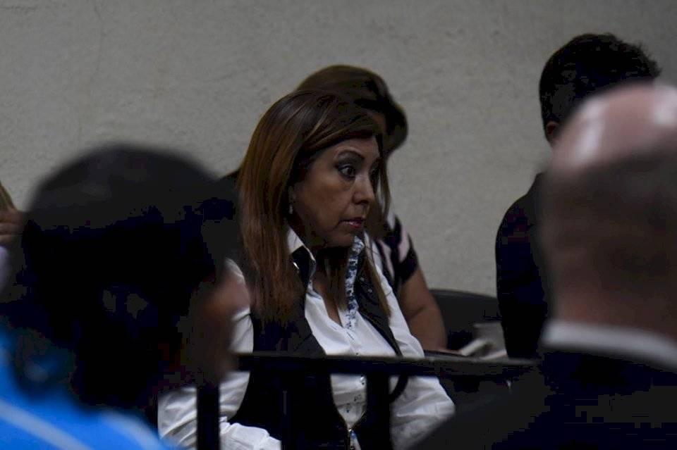 MP pide 10 años de prisión contra Gladys Anabella de León Ruiz. Foto: Omar Solís