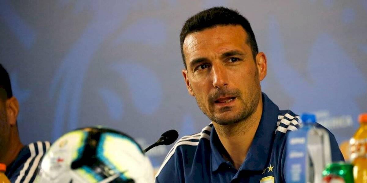 """Scaloni y la revancha de Argentina ante Chile en la Copa América: """"Pondremos lo mejor para este partido"""""""