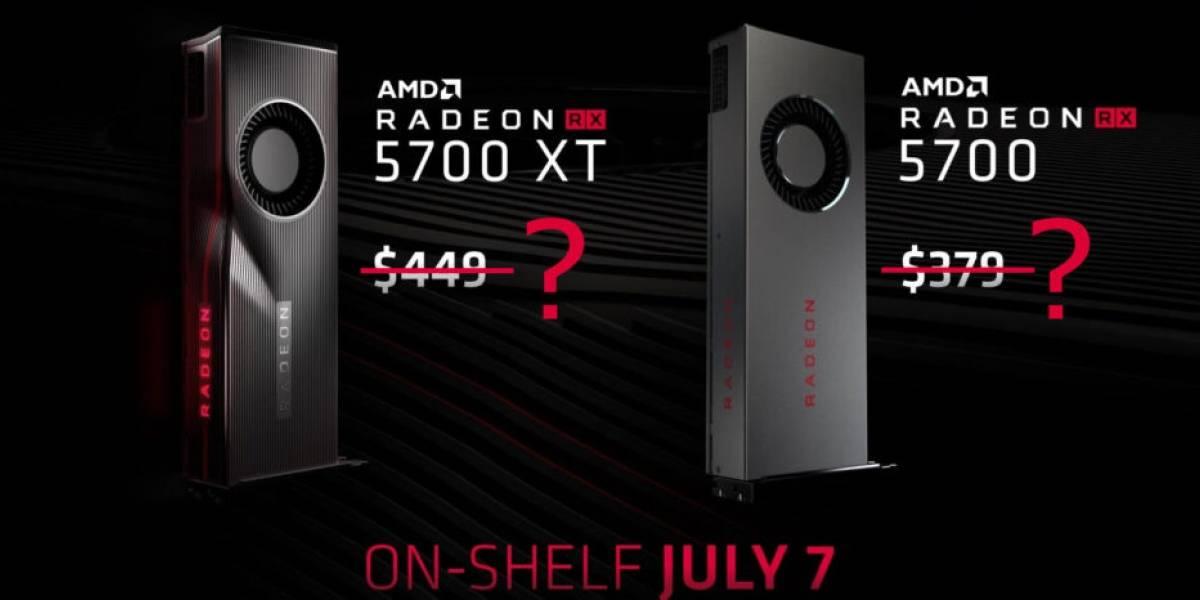 AMD acusó el golpe y bajará el precio de sus tarjetas gráficas Radeon RX 5700