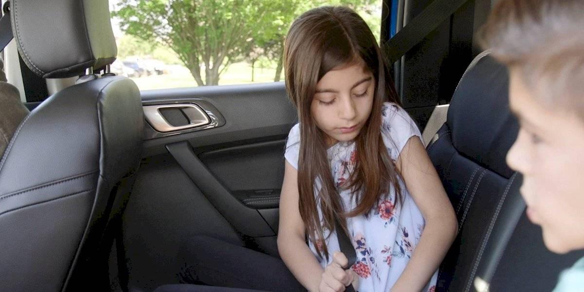 Ford Ranger: Tecnología inteligente monitorea cinturones de seguridad traseros