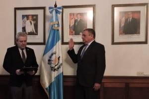 Remberto Ruiz Barrientos es juramentado como viceministro Administrativo de la cartera del Interior.