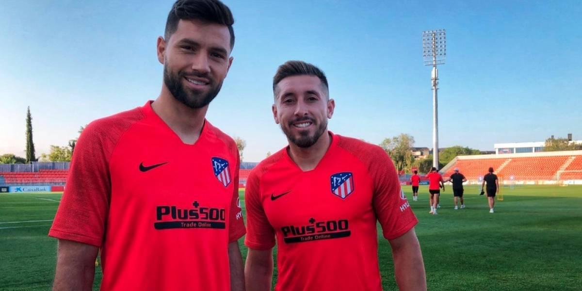 VIDEO: Herrera piensa en grande en su primer día como jugador del Atleti